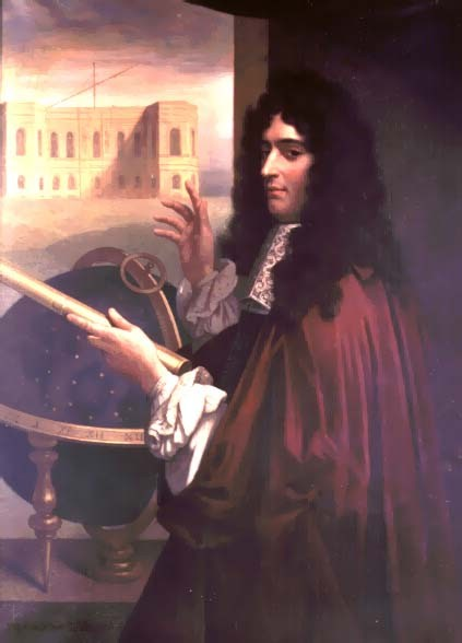 A portrait of Giovanni Domenico Cassini. PUBLIC DOMAIN