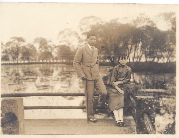 Anders Hsi's grandmother's parents, c. mid-1920s. ANDERS HSI