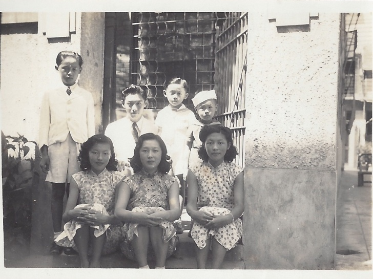 Hsi's grandfather and all his siblings. ANDERS HSI