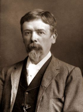 Author and cartoonist George du Maurier. Via Wikimedia Commons.