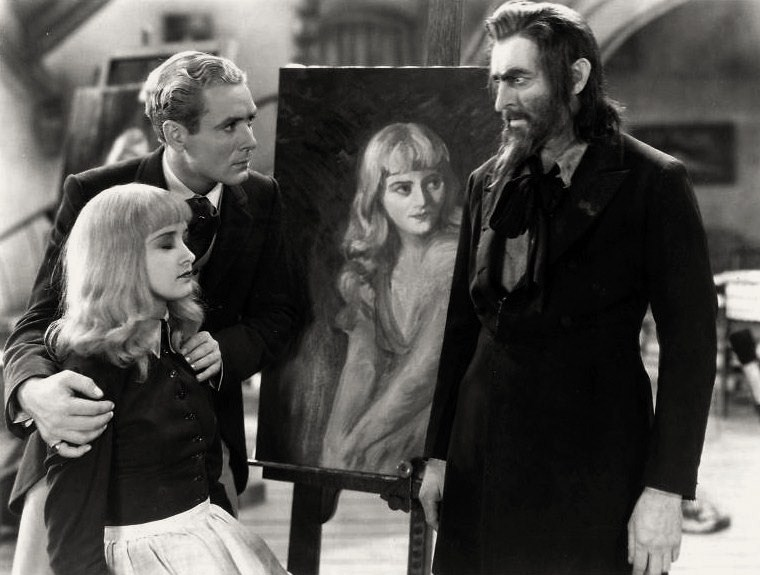 A scene from the 1931 film Svengali. Via Wikimedia Commons.