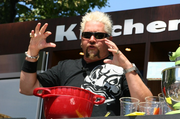 guy fieri on stage