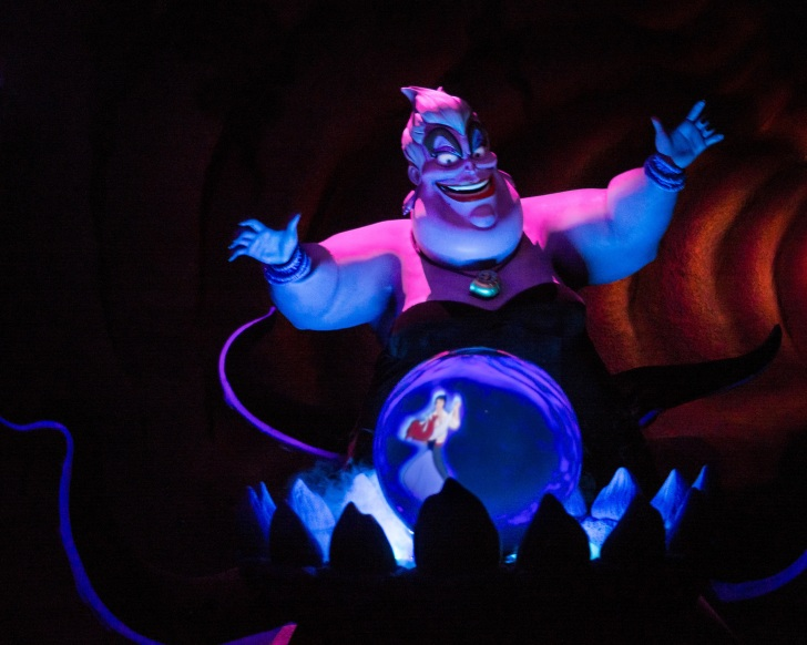 ursula the sea witch, from disney's little mermaid