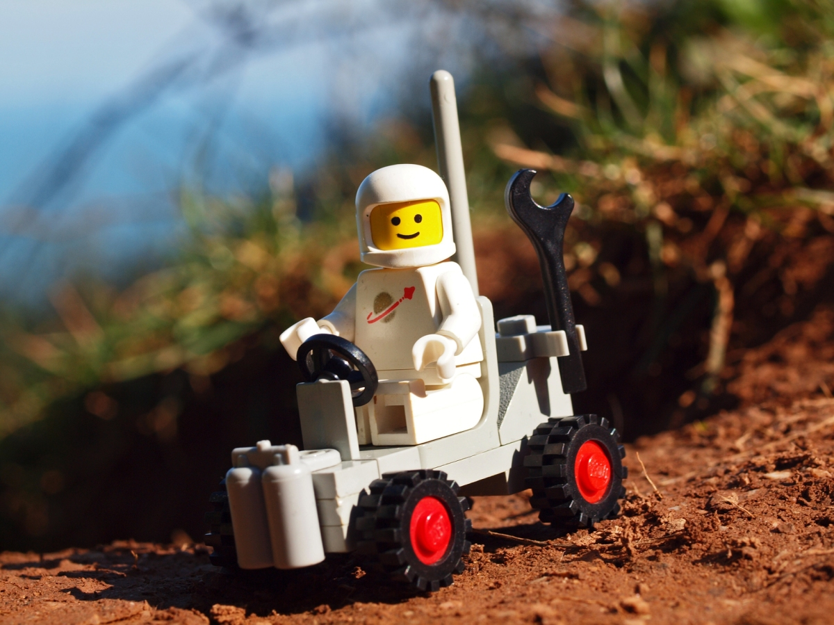 Legos in space