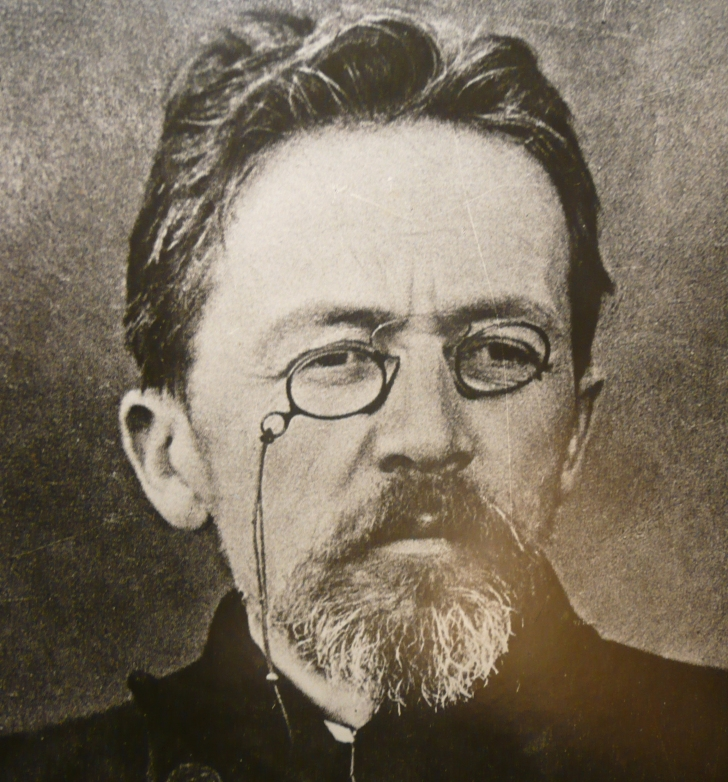 Photo: Anton Chekhov, 1904. Wikimedia Commons