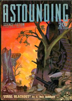 Astounding Science Fiction, April 1940. Via John W. Knott, Jr. Bookseller.