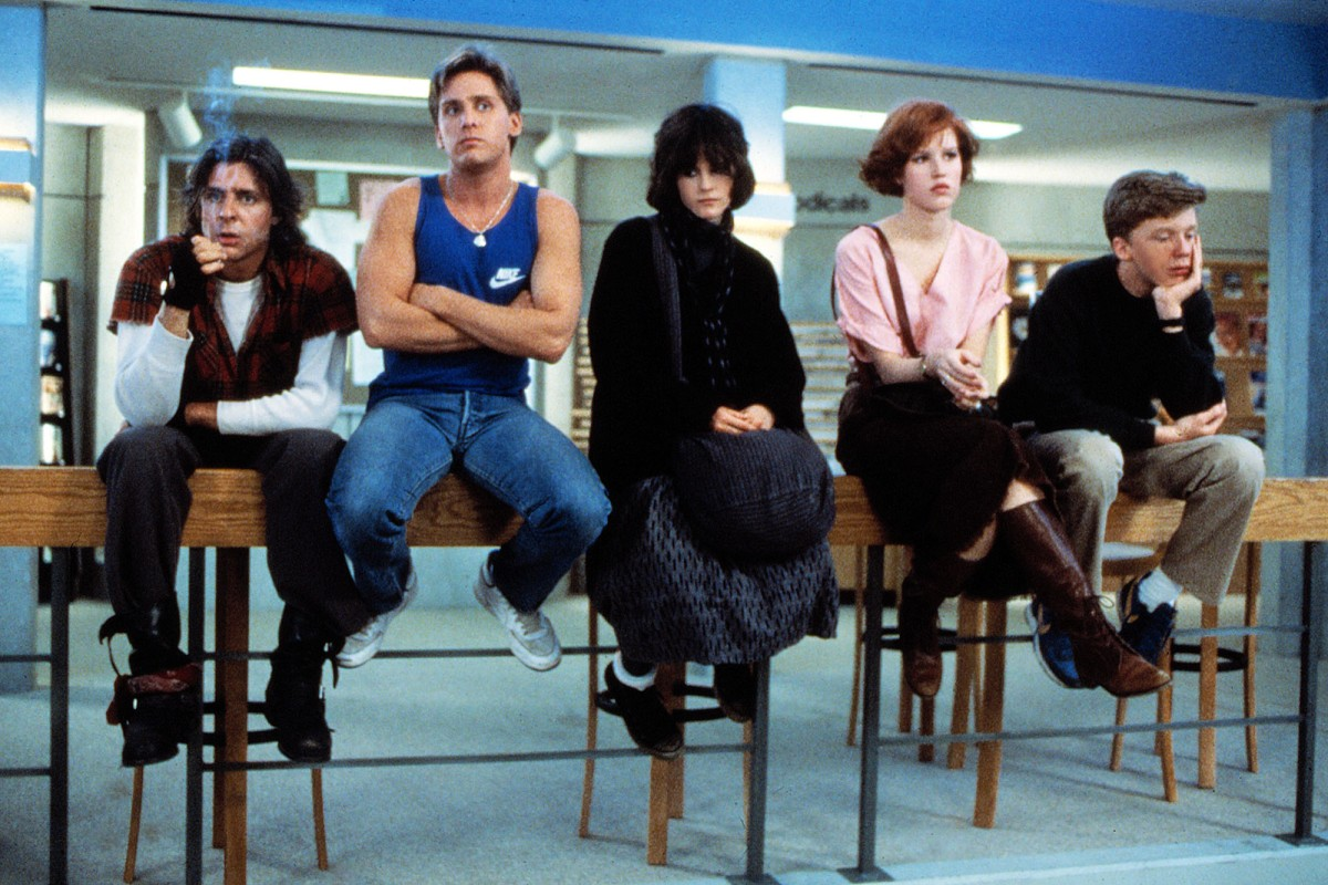 Still from the 1985 movie, The Breakfast Club