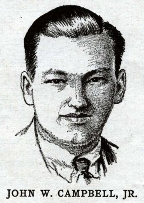 John W. Campbell, Jr. Via Wikimedia Commons.
