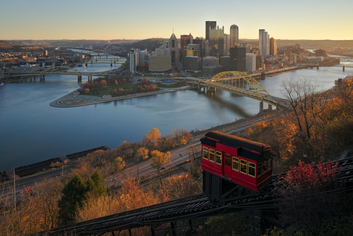 Pittsburgh and the Duquense Incline