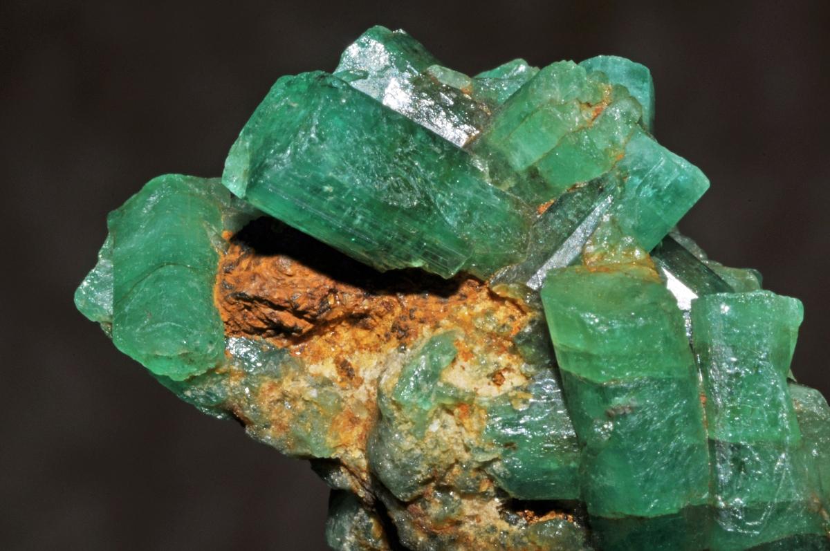uncut emeralds