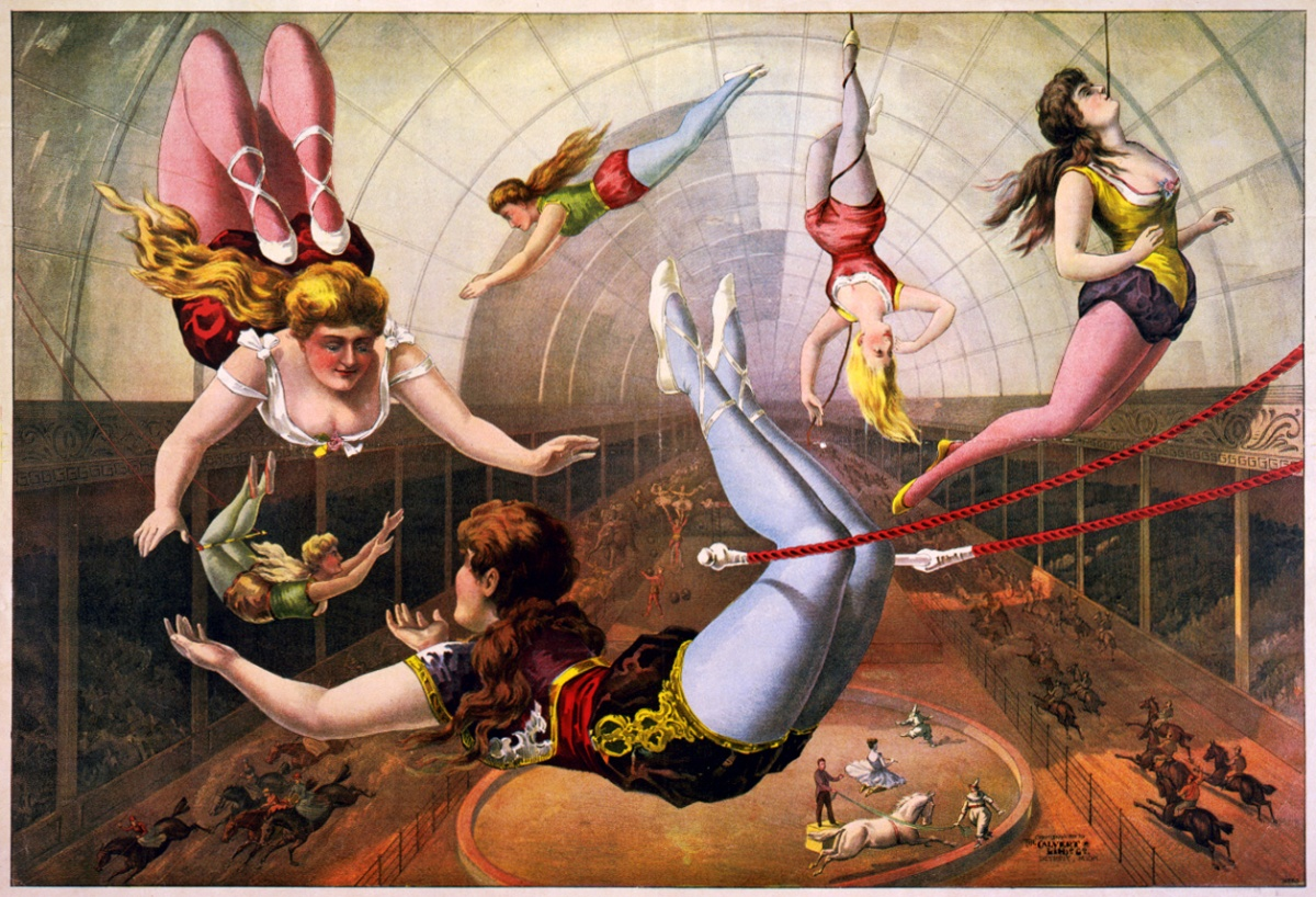 Circus Trapeze Artists