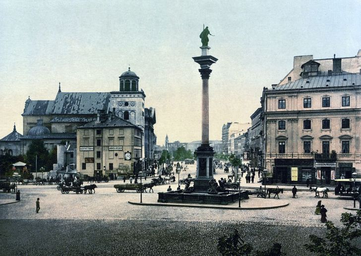 Warsaw Castle Square