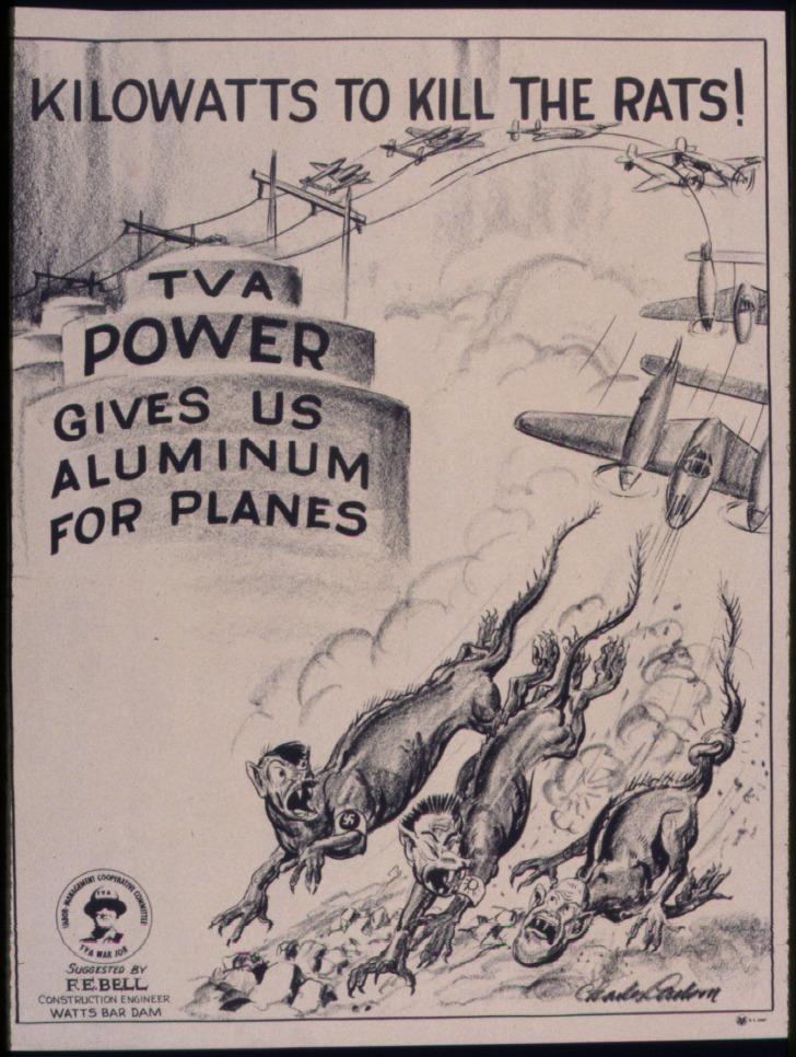 Kilowatts_to_kill_the_rats._TVA_power_gives_us_aluminum_for_planes._-_NARA_-_534827