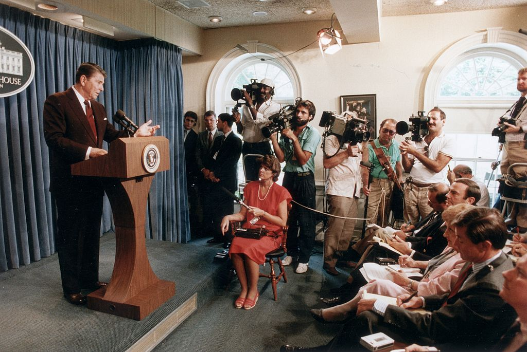 The Press Has Always Been a Guest in the President's Home