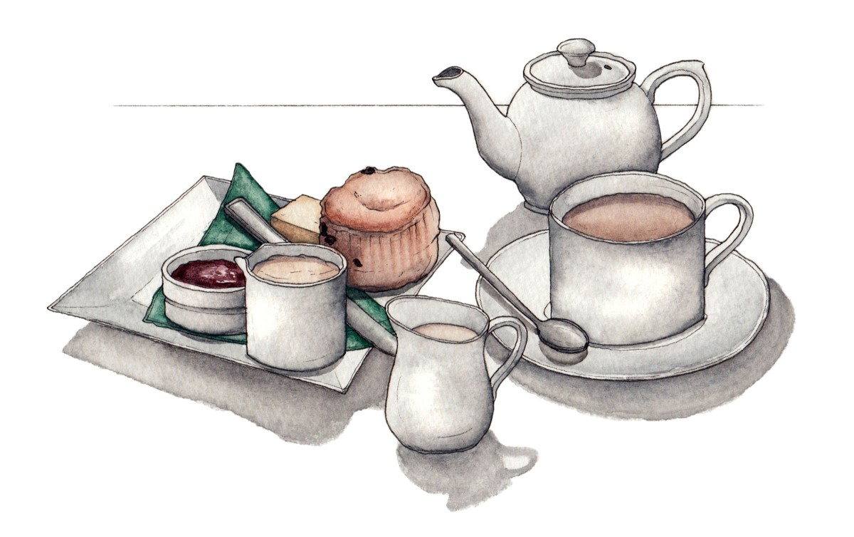 three cups of tea There is a story about a traveller who found that, in order to be welcomed into an eastern family, he would be asked to take three cups of tea the first cup was taken as a stranger, the second cup as a friend and, if he was offered a third cup, he would then become part of their family.