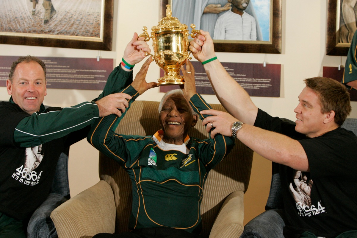 Remembering Nelson Mandela's Contribution to Sports