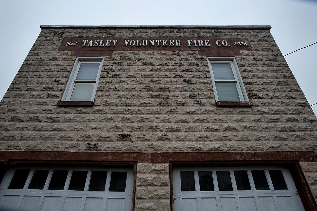 The volunteer fire department in Tasley, Virginia