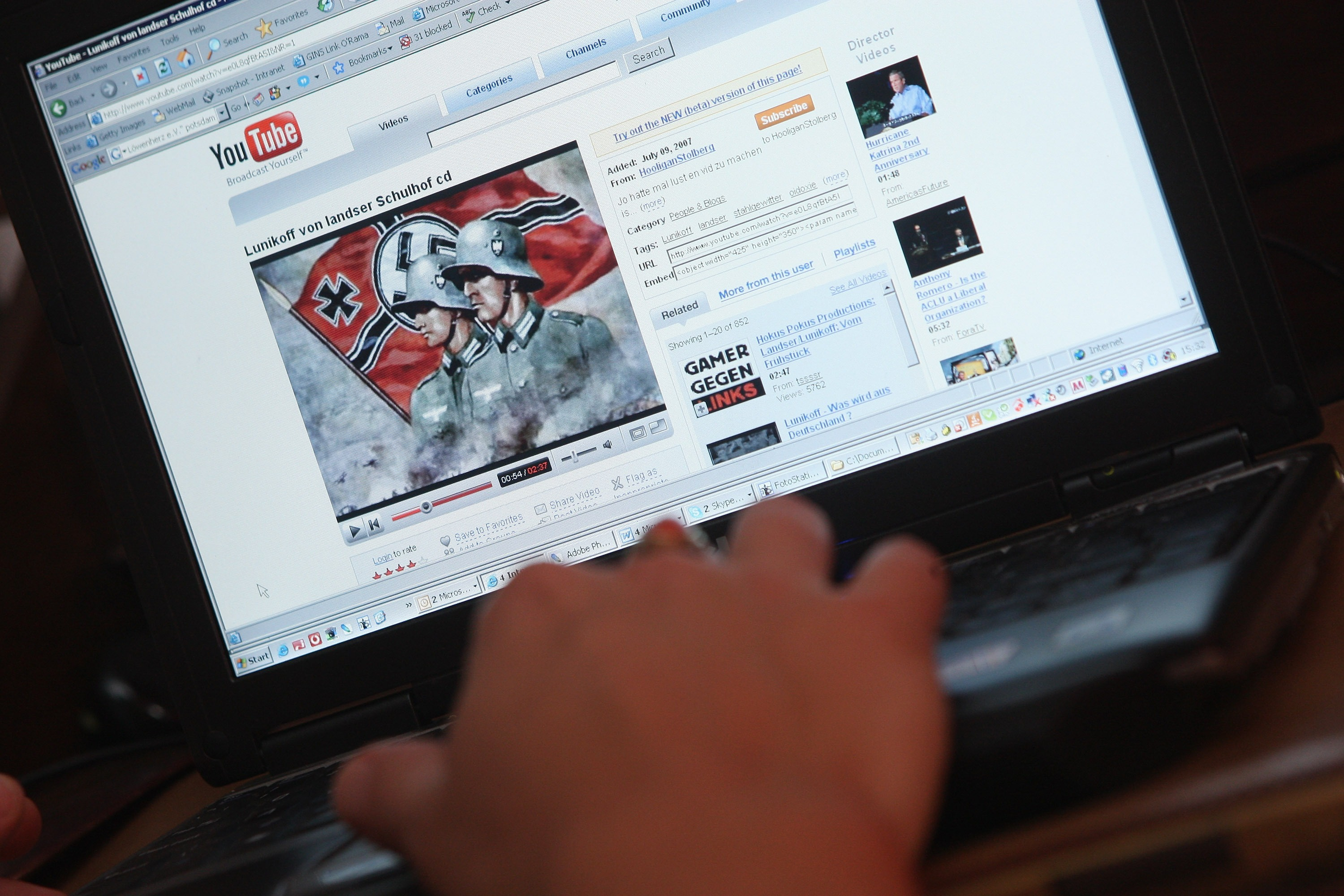 Tech Companies Are (Maybe) Ready to Punch Nazis Now