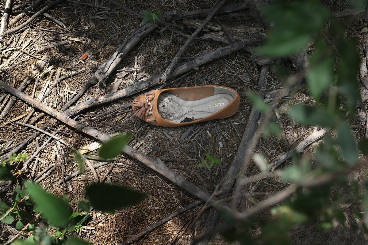 Refuse Of A Journey: Immigrants' Items Left Behind After Crossing Into US Via Mexican Border