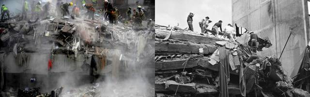 Two Brothers, Two Earthquakes