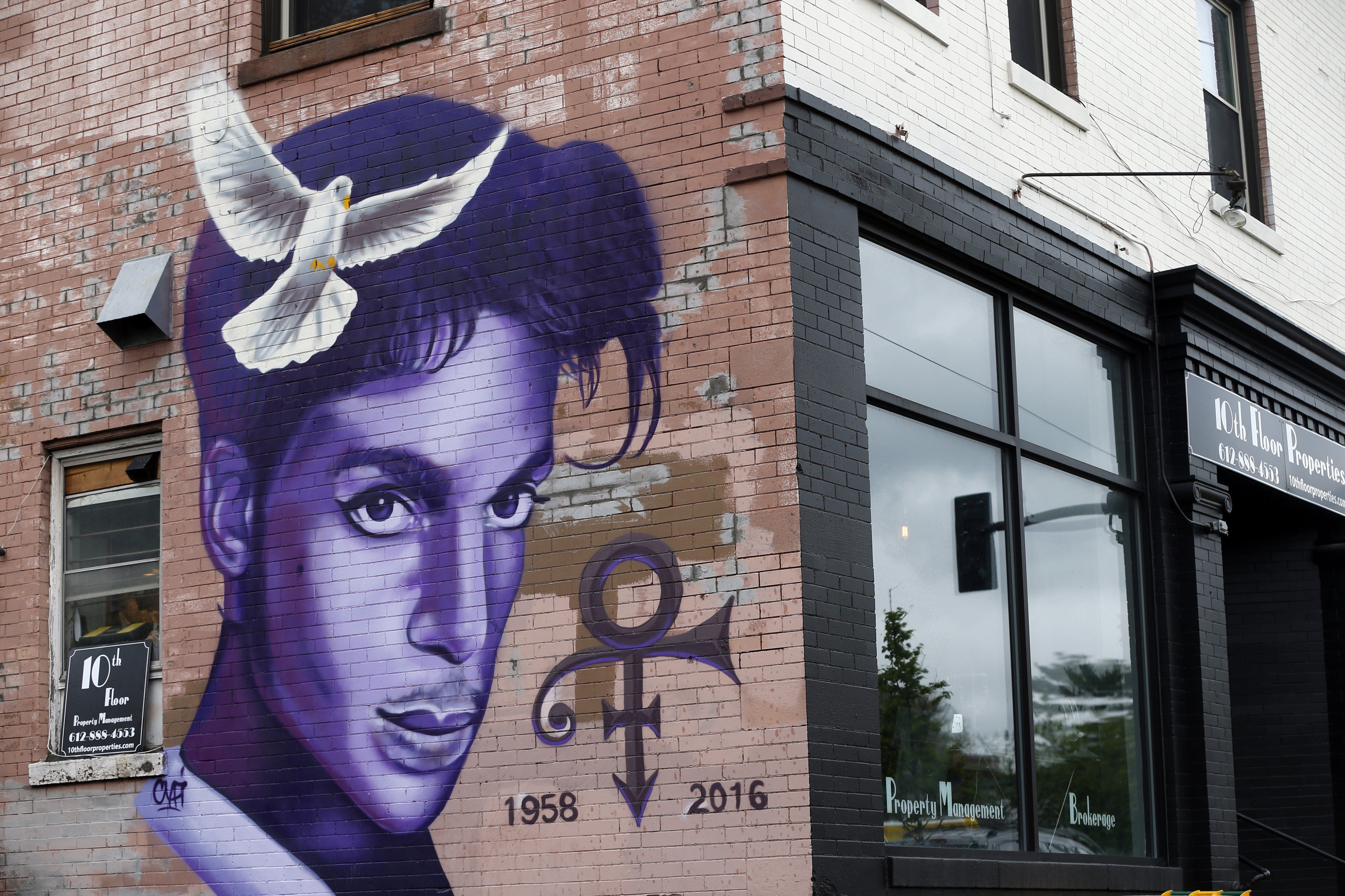 Making a Pilgrimage Along Prince's Purple Trail