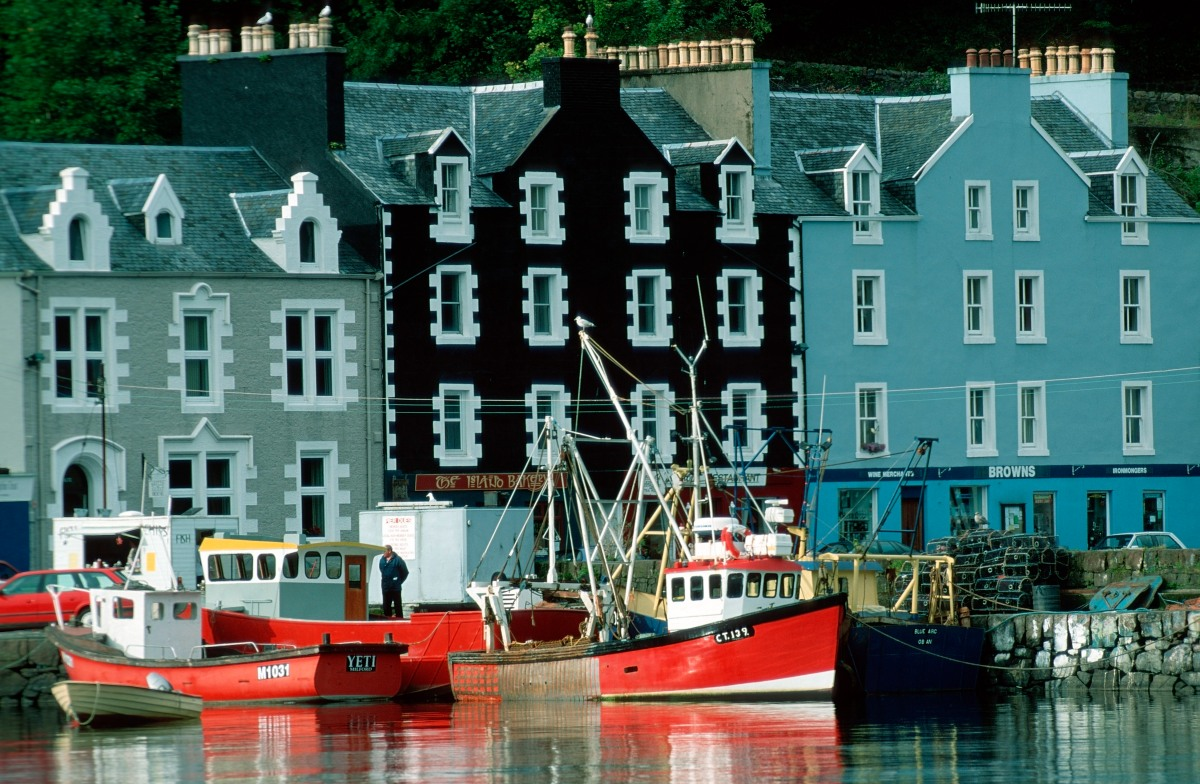 One Coastal Scottish Village Learns the Real Meaning of Community