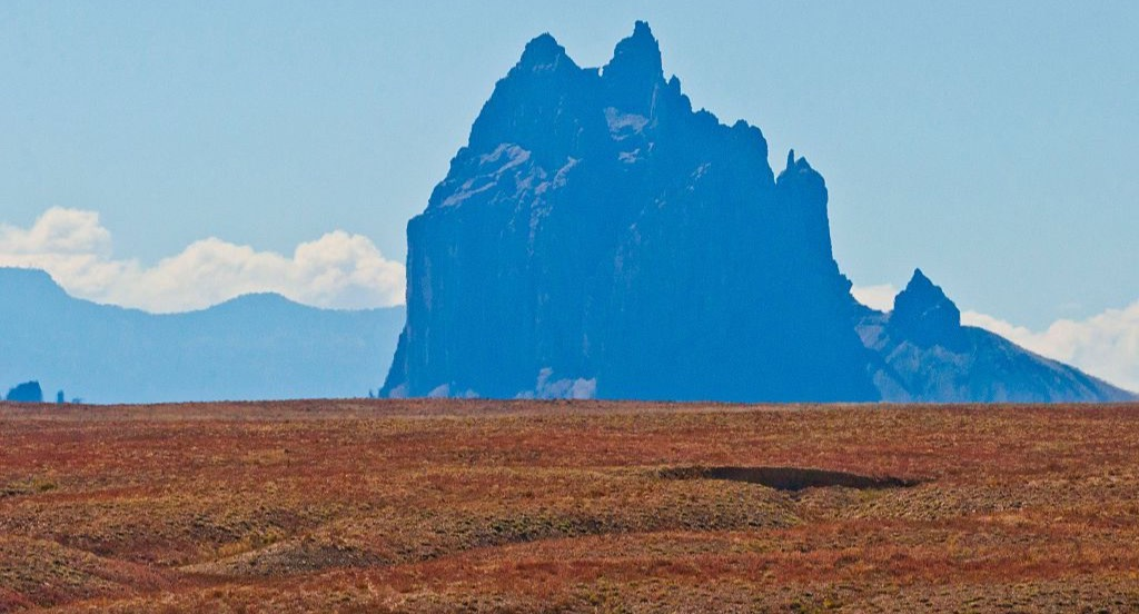 Shiprock Peak in New Mexico
