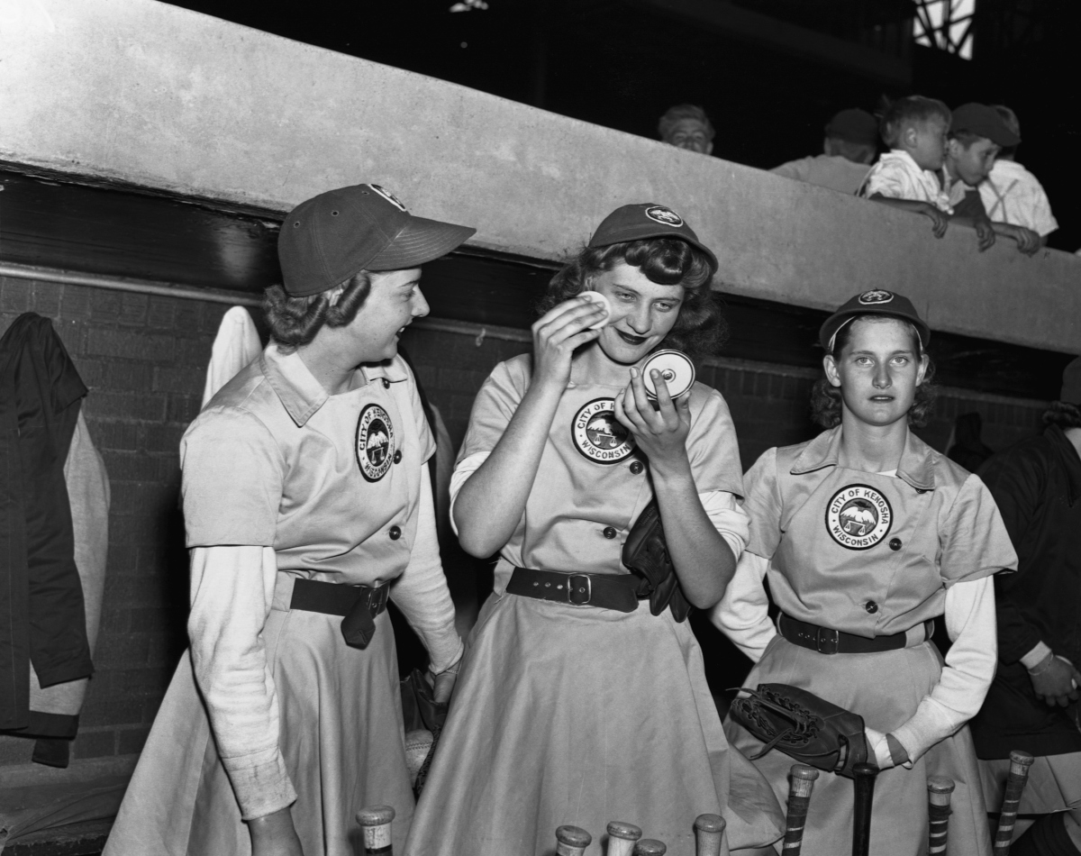 all american girls baseball league - HD1200×951