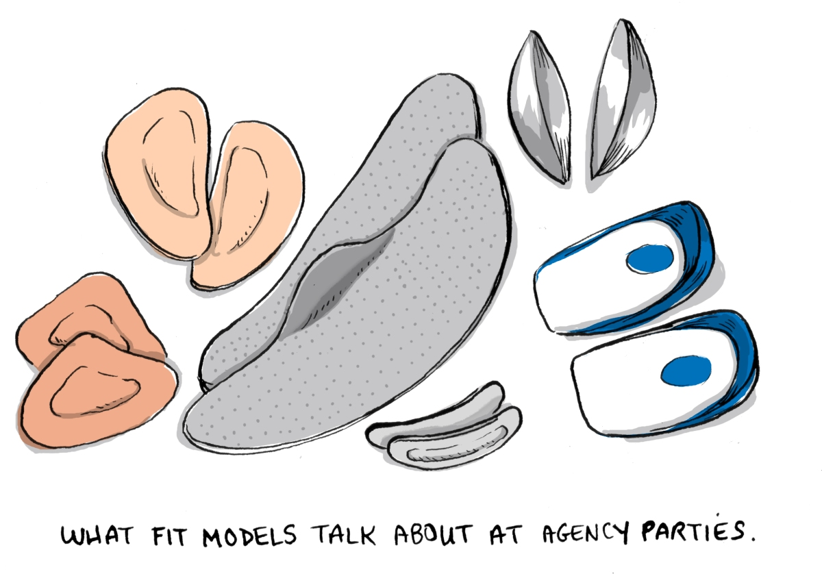 Illustration of the various insoles and arch support pads, ball of foot pads I have tried. (There are a lot of them).