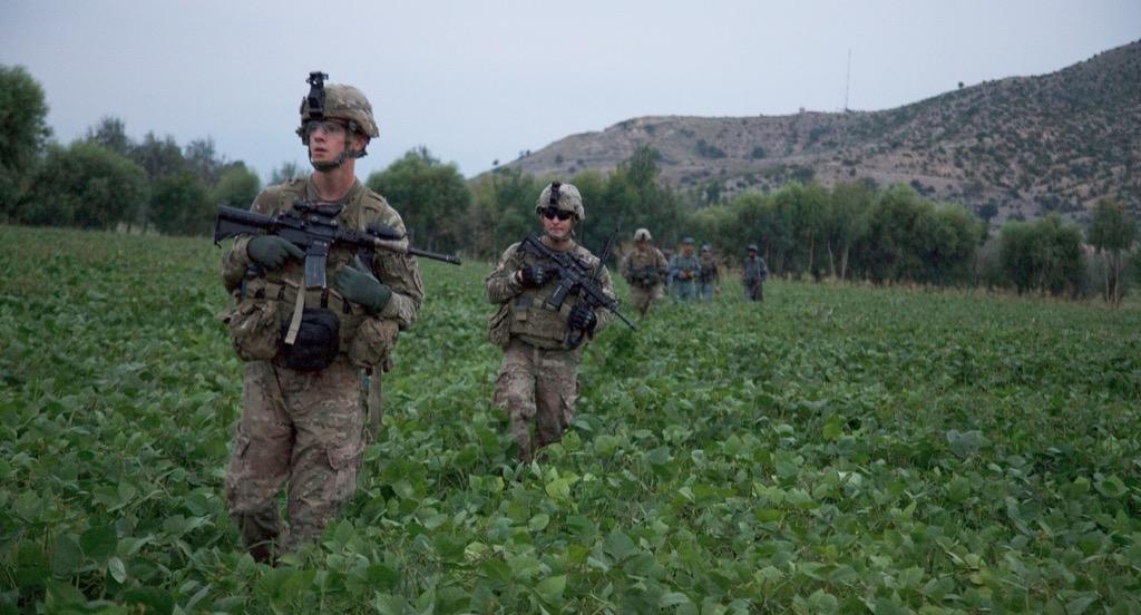 U.S Soldiers Patrol In Khost Province, Afghanistan