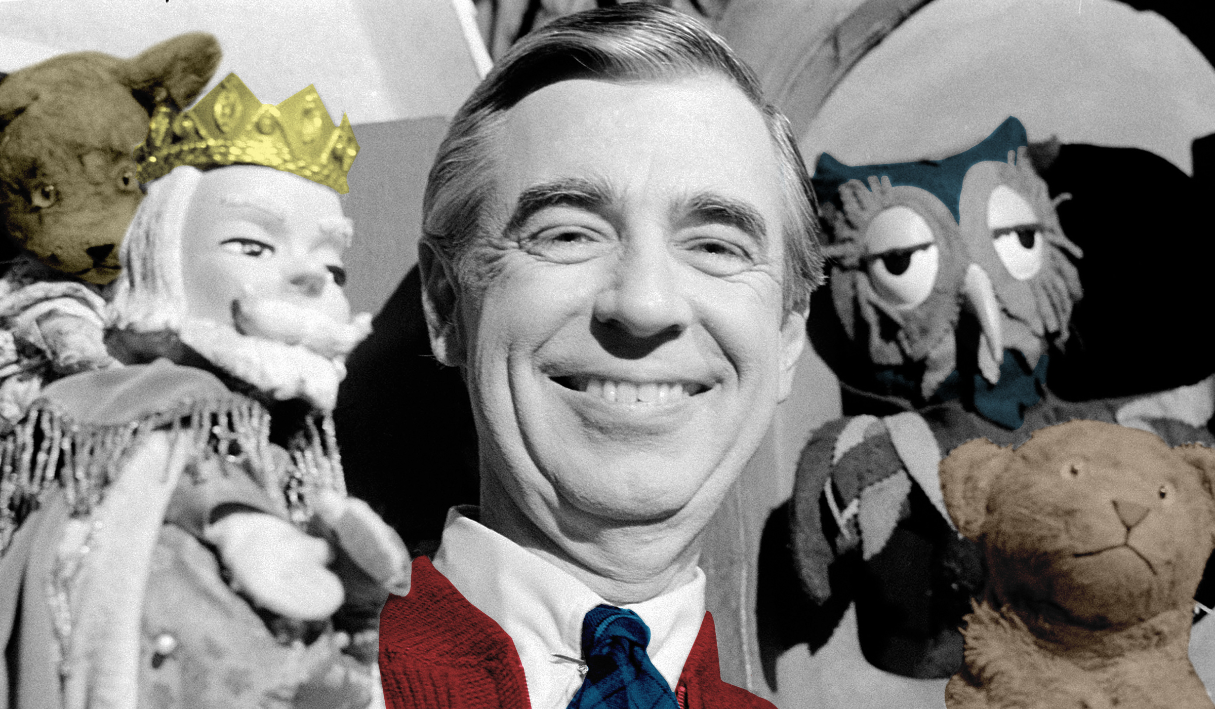 Mr Rogers Vs The Superheroes