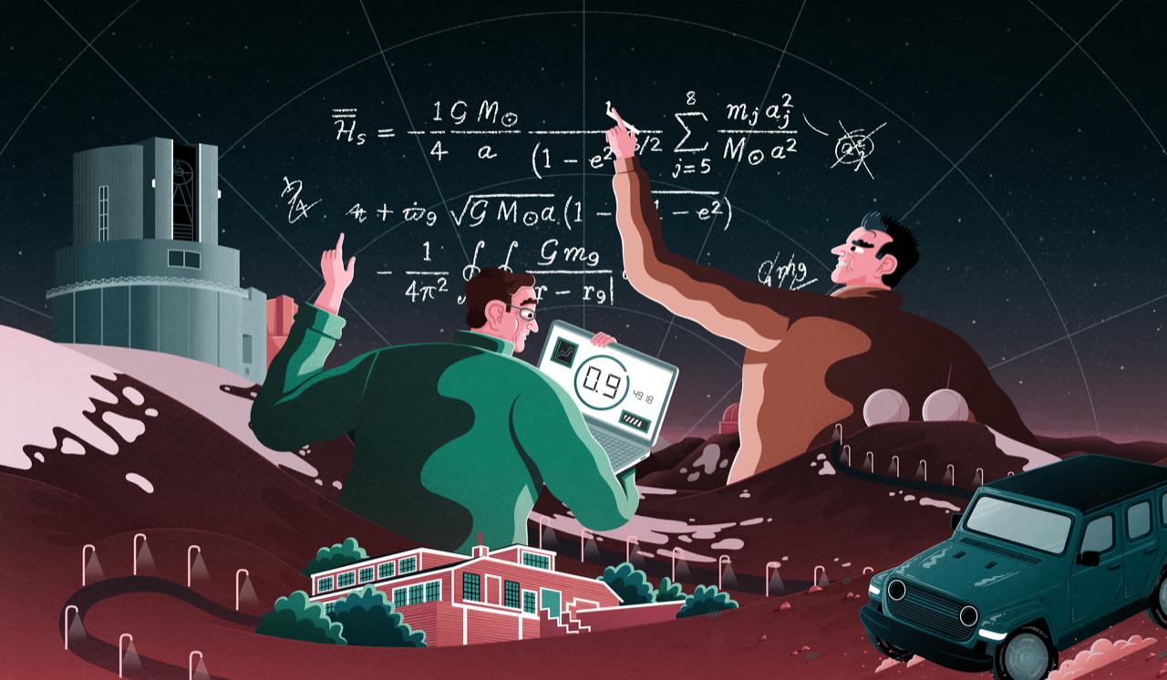 The Hunt for Planet Nine