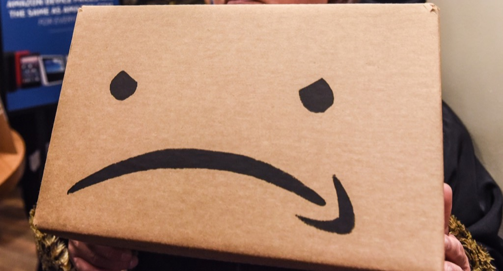 Amazon frown