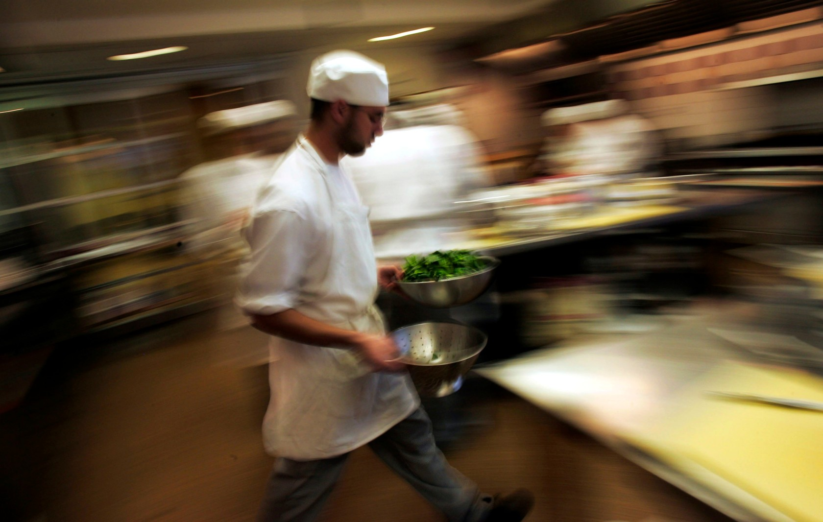 A Dispatch From The Fast Paced Makeshift World Of High End Catering