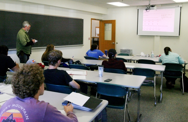 How College Professors Are Fighting for Their Lives