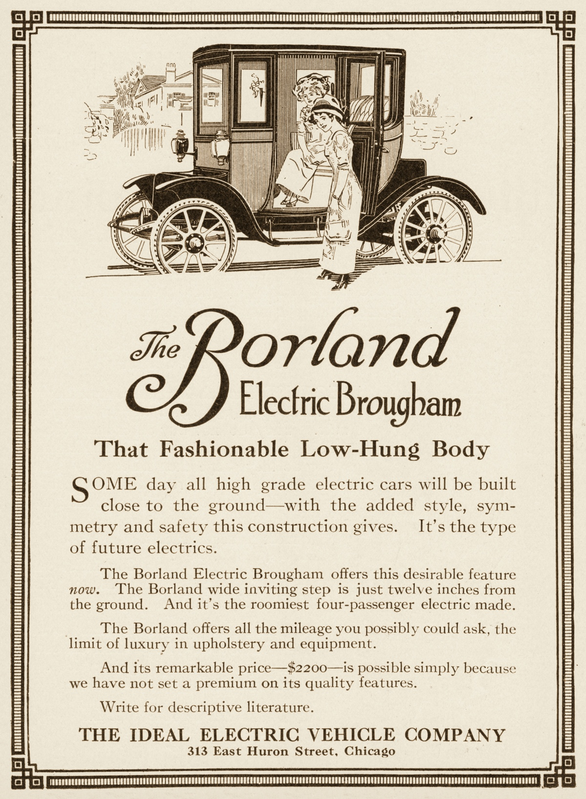 Borland Electric Brougham