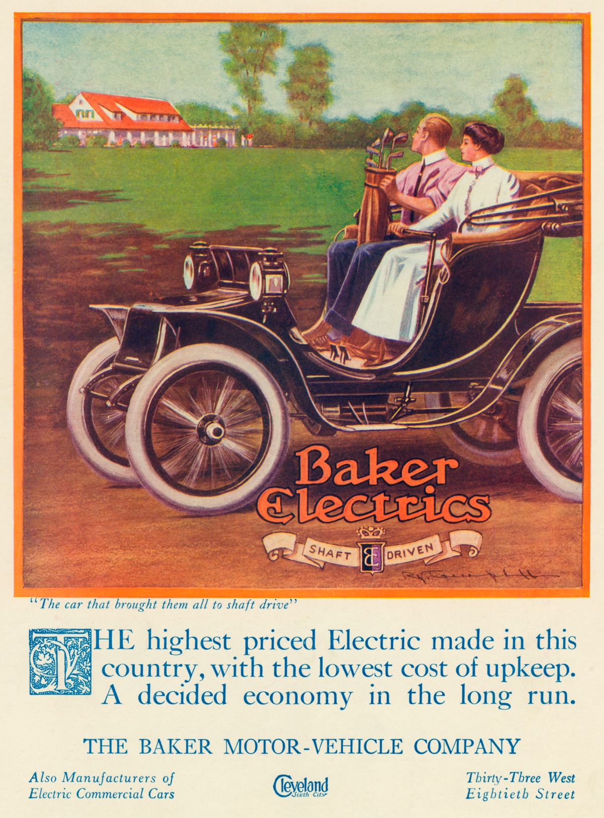Baker Electric Automobile