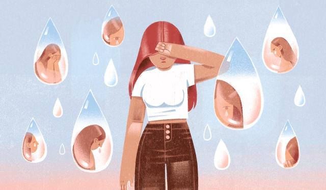 Through a Glass, Tearfully