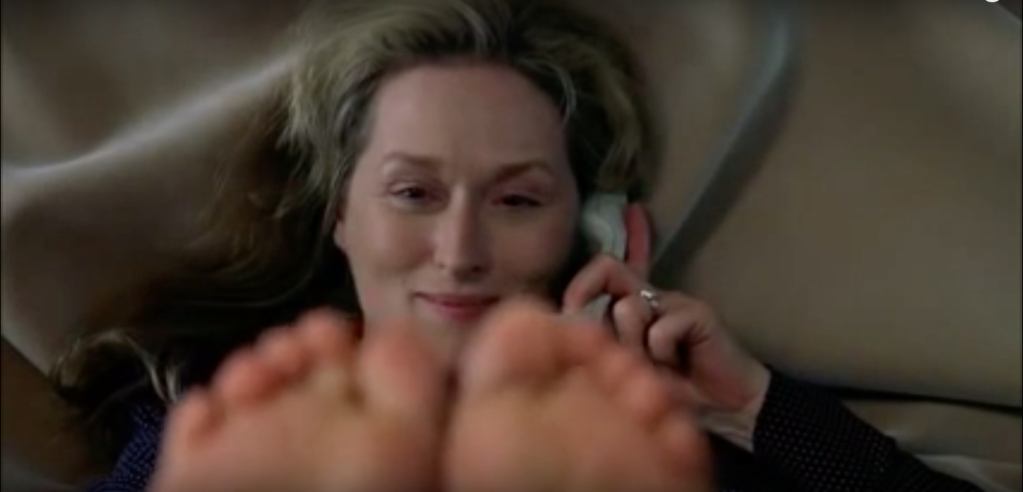 Meryl Streep in a scene from Adaptation