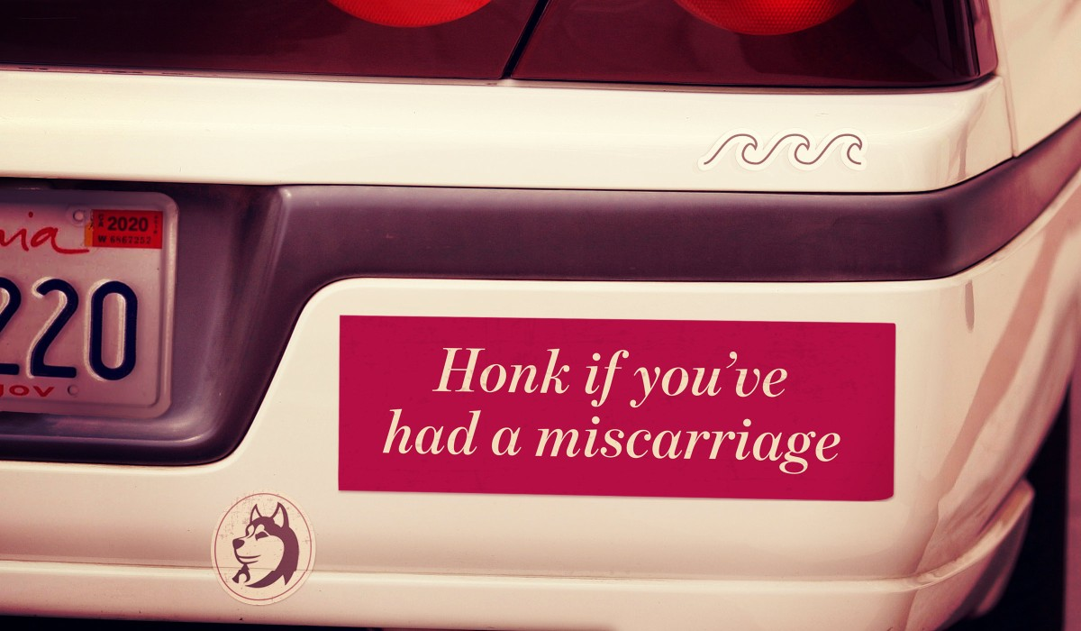 If Miscarriage is So Normal, Why Doesn't Anybody Talk About It?