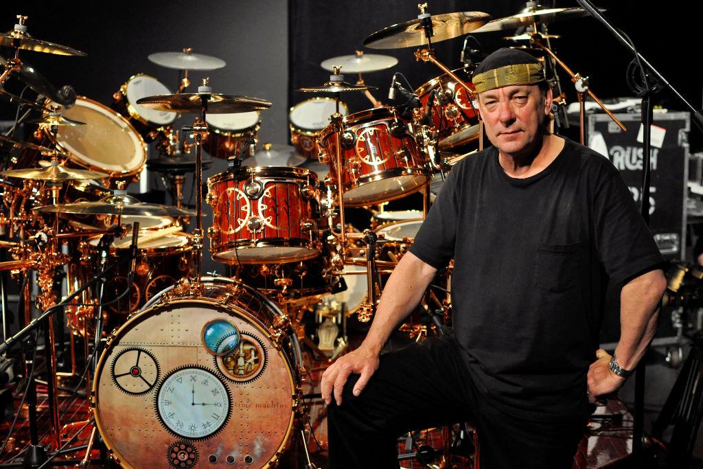 Rush Drummer Neil Peart: Master Student